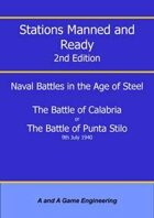 Stations Manned and Ready - 2nd Edition - Battle of Calabria