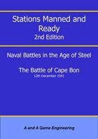 Stations Manned and Ready - 2nd Edition - Battle of Cape Bon