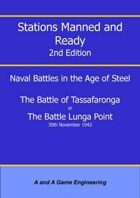 Stations Manned and Ready - 2nd Edition - Battle of Tassafaronga