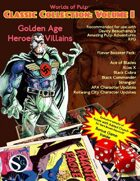 Worlds of Pulp: Classic Collection Volume I-Flavor Booster Pack
