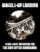 One Sheet - Wheels-Up Landing (Savage Worlds)