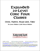 Expanded 20-Level Core Four Classes