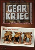 Gear Krieg: German Walker Compendium III: Thor and Donner