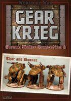 Gear Krieg: German Walker Compendium III: Thor and Donner