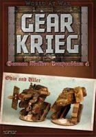 Gear Krieg: German Walker Compendium IV: Odin and Uller