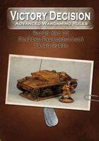 Victory Decision: WW II - Italian Paracadudisti Field Guide