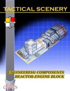 Tactical Scenery: Engineering Components Reactor-Engine Block