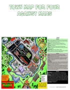 Map Town Poster for Four Against Mars