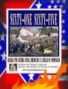'61-'65 Regolamento per Guerra Civile Americana a Livello di Compagnia