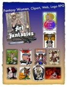 Fantasy Women Clipart Volume 14