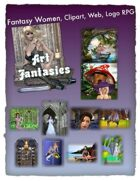 Fantasy Women Clipart Volume 17