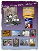 Fantasy Women Clipart Volume 19