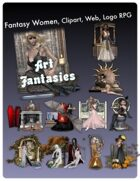 Fantasy Women Clipart Volume 1