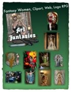 Fantasy Women Clipart Volume 6