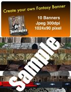 Fantasy Banners or Page Separators Volume 2 Dungeon/Tomb