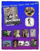 Fantasy Women Clipart Volume 11