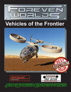 Foreven Worlds: Vehicles of the Frontier (Traveller)