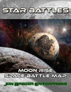 Star Battles: Moon Rise Space Battle Map (VTT)