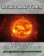 Star Battles: Red Dwarf Space Battle Map (VTT)