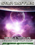 Star Battles: Nebula Worlds Space Battle Map (VTT)