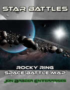 Star Battles: Meteor Ring Space Battle Map (VTT)