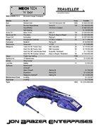 Mech Tech 'n' bot: Sabria Armored Cargo Transport