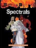 API Demon Codex: Spectrals 1st Edition