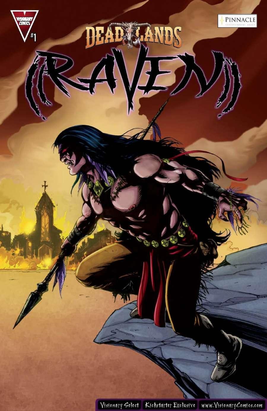 DEADLANDS: Raven #1