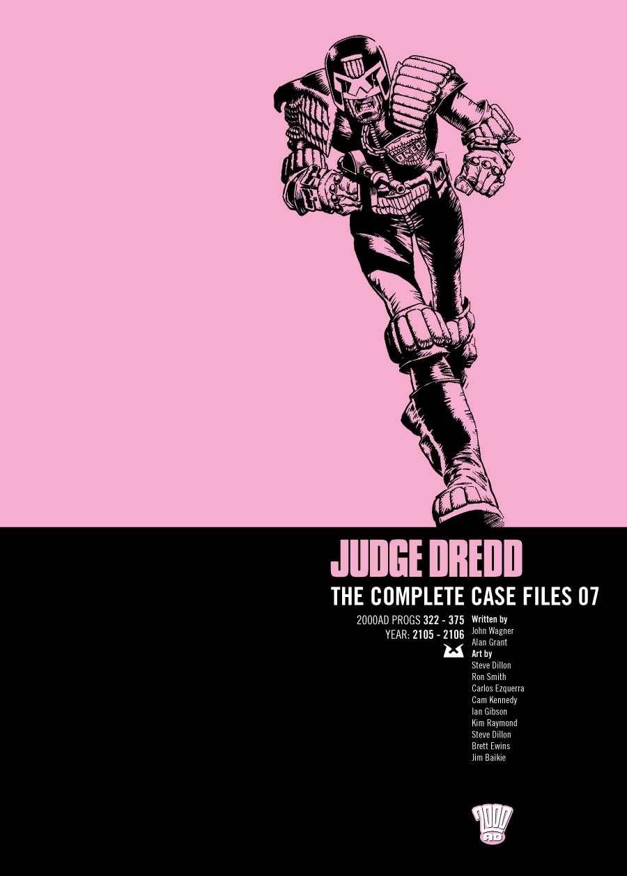 Judge Dredd: The Complete Case Files #7