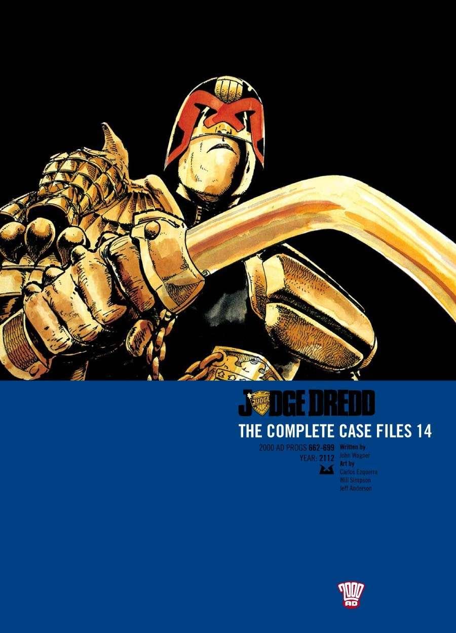 Judge Dredd: The Complete Case Files #14