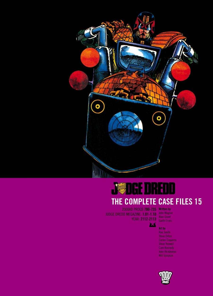 Judge Dredd: The Complete Case Files #15