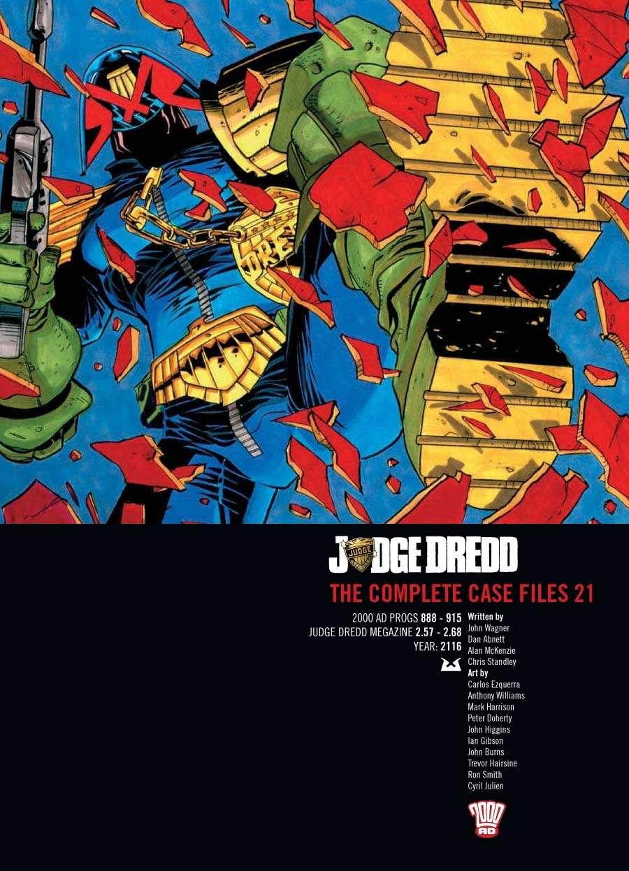 Judge Dredd: The Complete Case Files #21