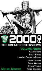 2000 AD: The Creator Interviews #4