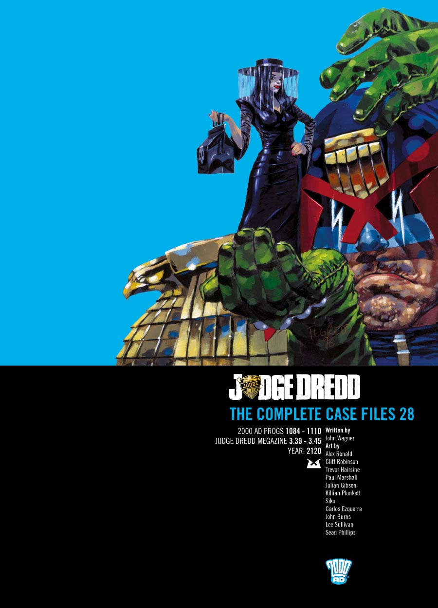 Judge Dredd: The Complete Case Files #28