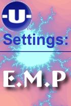 -U- Settings: EMP