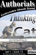 Authorials: Thinking Cat