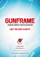 GunFrame Unit Record Sheets