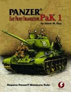 Panzer® Miniatures Rules Soviet Data Cards