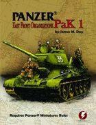 Panzer® Miniatures Rules Soviet Data Cards