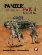 Panzer® PaK 4: Lend Lease Forces