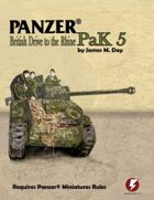 Panzer® PaK 5: British Drive to the Rhine
