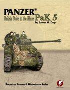 Panzer® PaK 5: British Drive to the Rhine