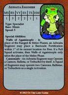 Brushfire - Scyzantine Stat Cards