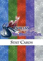 Endless: Fantasy Tactics - The Miasma War - Stat Cards