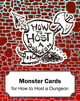 Monster Cards for How to Host a Dungeon