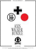 Gear Krieg Card Model: Axis Walkers [BUNDLE]
