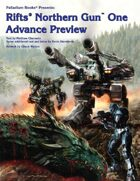 Rifts® Northern Gun One Advance Preview