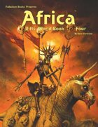 Rifts® World Book Four: Africa™ - Fred Fields Cover