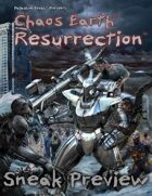 Chaos Earth® Resurrection Sneak Preview