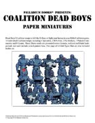 Rifts® Paper Miniatures: Dead Boys